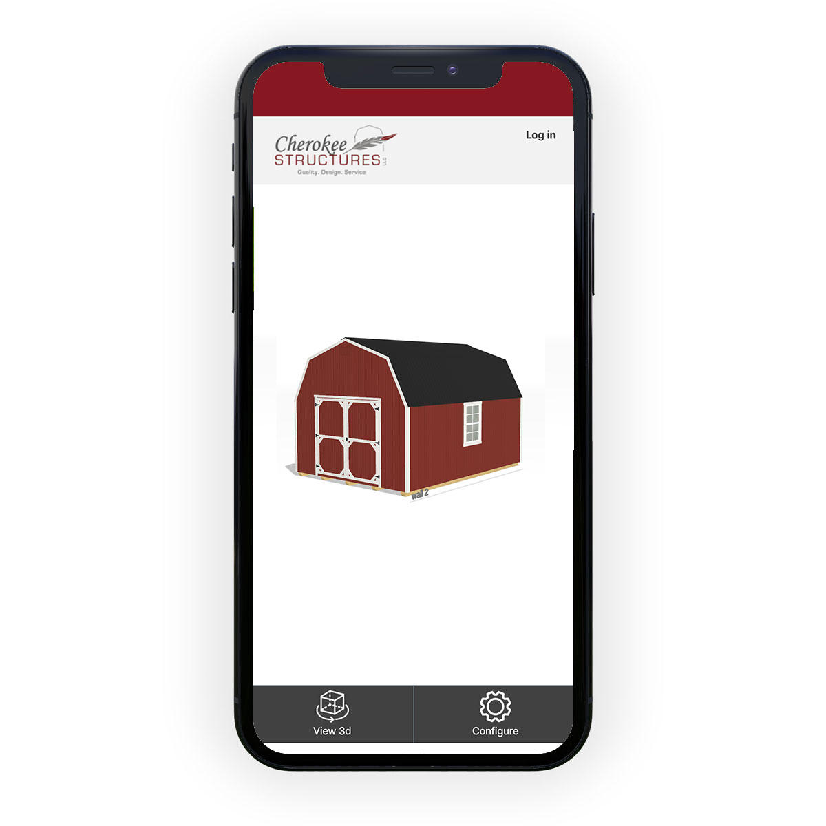 build your own storage building on mobile