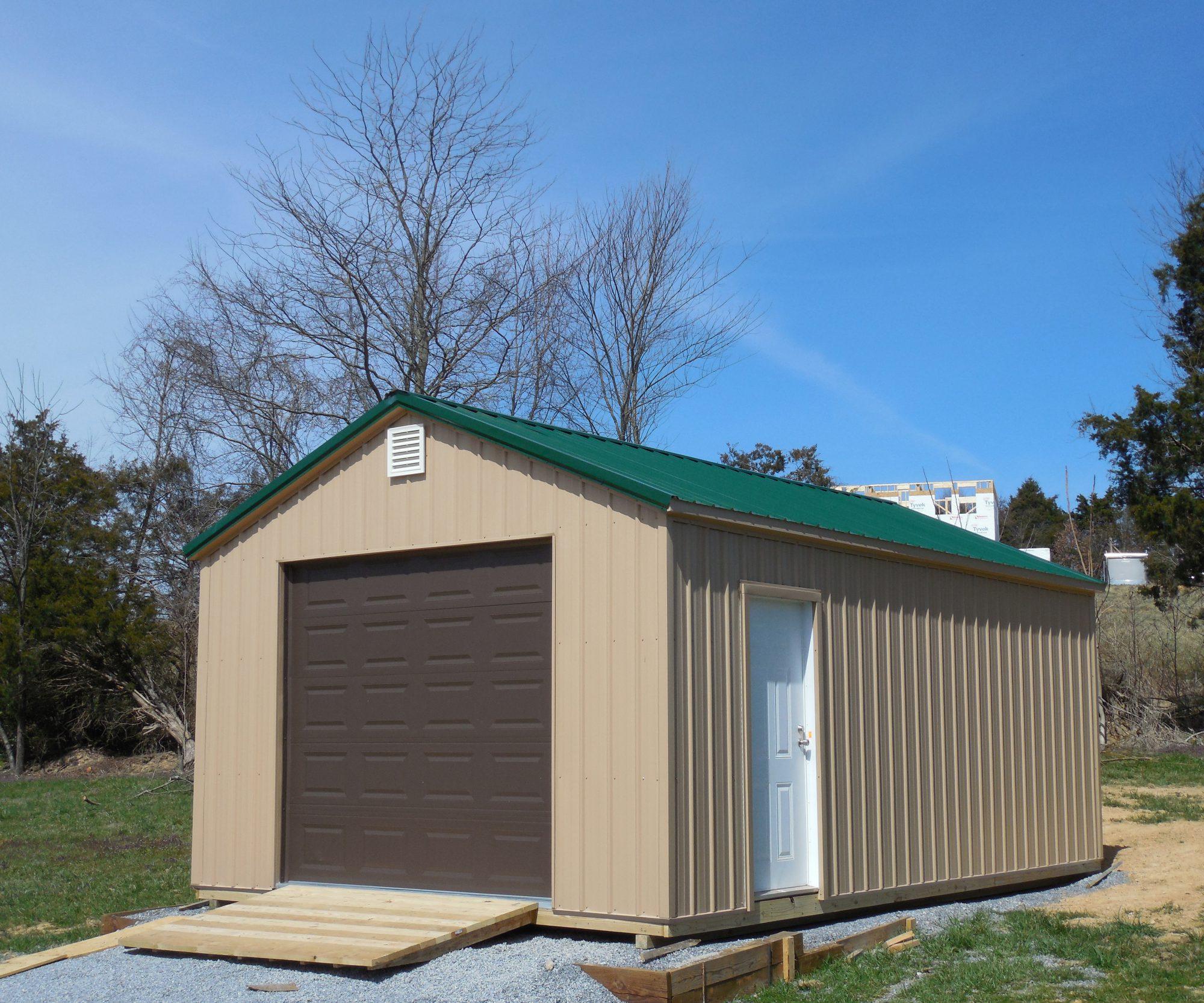 metal garage in Oak Ridge TN