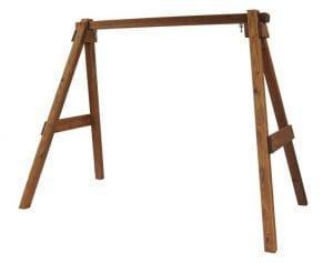 wooden a-frame