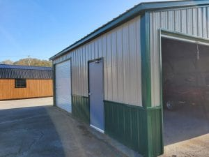 metal garages in Knoxville and Oak Ridge TN