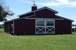 R&R Buildings Oak Ridge barn