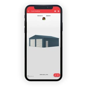 online metal structure builder on mobile phone