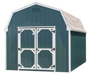 green storage building
