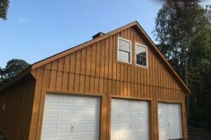 wooden modular barn
